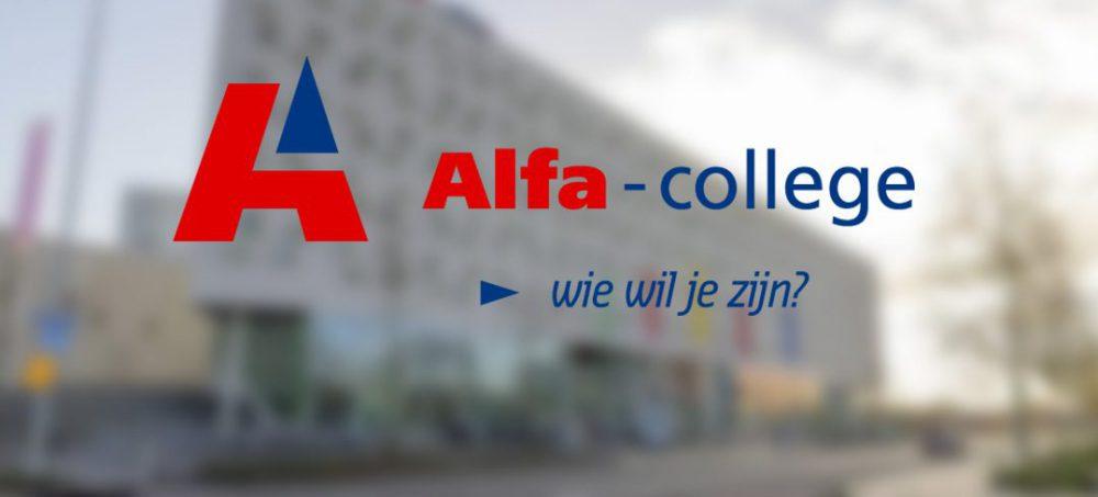 Alfa-college logo werving & selectie directeur bedrijfsvoering vacature onderwijs