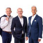Gerard Veger, Klaas Pool en Erik Versteege